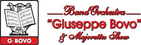 "BandOrchestra ""GIUSEPPE BOVO"" & Majorettes Show Logo"